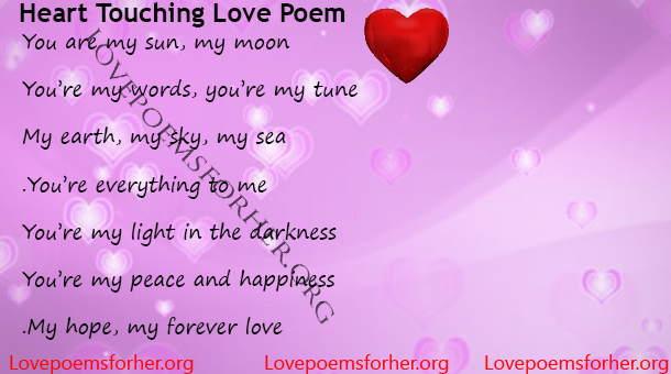 Love my poem forever 23 Perfect